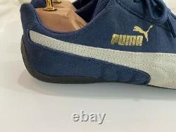 Extremely Rare Original PUMA Speedcat Trainers Unisex Blue Size 9 SUPERB