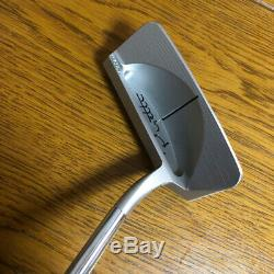 Extremely Rare Piretti Elite Golf Putter Used Blue Head Cover included d4e3MN
