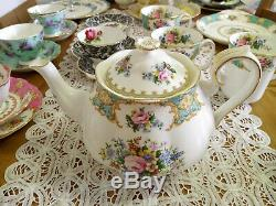 Extremely Rare Royal Albert Lady Ascot Teapot in Excellent, Unused Condition