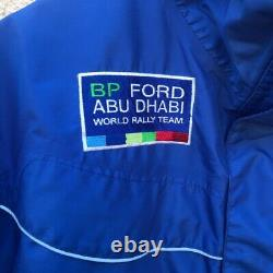 Extremely Rare Sparco Jacket, Bp Ford Abu Dhabi World Rally Team