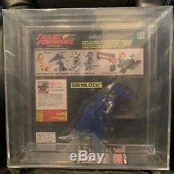 Extremely Rare Vintage Afa 80 Graded Misb Hasbro Transformers G2 Blue Grimlock