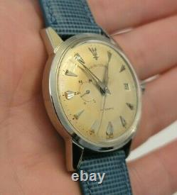 Extremely rare Favre Leuba Automatic Power Reserve Men's watch works mint