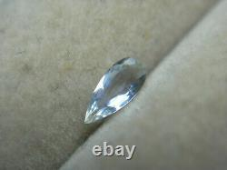 Extremely rare Jeremejevite gemstone pale Blue Erongo Namibia Natural 0.10ct gem