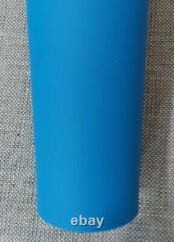 Extremely rare Starbucks Royal Blue matte soft touch venti Tumbler