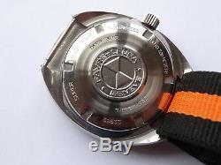 FAVRE LEUBA Deep Blue 200m Vintage diver EXTREME RARE