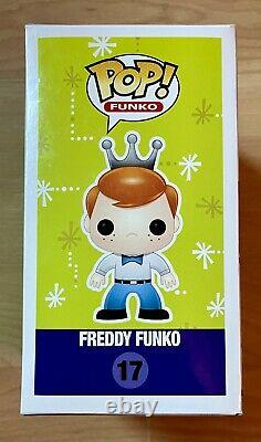 Funko Pop! Freddy Funko #17 Exclusive Fundays 2015 (Blue Tie) LE Extremely Rare