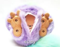 Funky Furby 2006 emoto tronic model 62169 PURPLE GREEN blue eyes EXTREMELY RARE