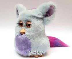 Funky Furby 2006 emoto tronic model 62169 blue purple pink eyes EXTREMELY RARE
