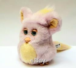 Funky furby 2006 pink yellow 62169 emoto tronic BLUE EYES Hasbro EXTREMELY RARE