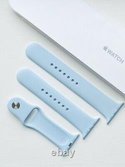 GENUINE APPLE WATCH SPORT BAND STRAP 42/44 mm SKY BLUE EXTREMELY RARE