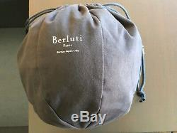 Genuine Berluti Navy Blue Soccer Ball Extremely Rare Collector Item Brand NEW