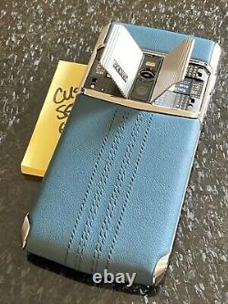Genuine Vertu NEW Signature Touch 5.2 Teal Fluted Edition Extremely RARE NEW