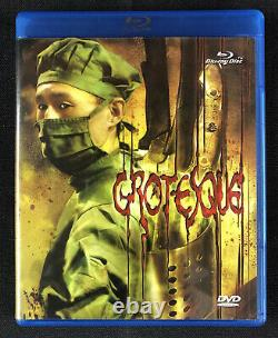 Grotesque (Blu-ray/DVD) OOP Tokyo Shock EXTREMELY RARE GORE horror