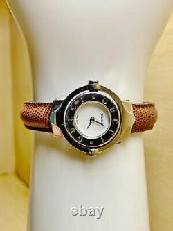 Gucci 6600l Twirl Dial Womens Reversible Watch 100% Authentic & Extremely Rare
