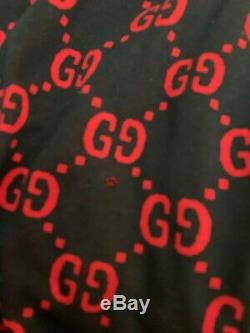 Gucci Jacquard Track Bottoms Red/Blue Small EXTREMELY RARE