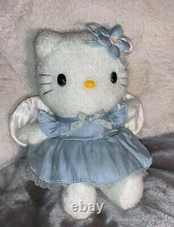 Hello Kitty Blue Angel Plush Years 1976 & 2001. It Is Extremely Rare