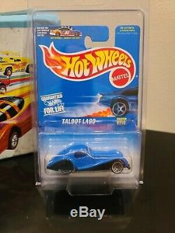 Hot Wheels Collector #714 Metalflake Blue Talbot Lago, All Metal Extremely Rare