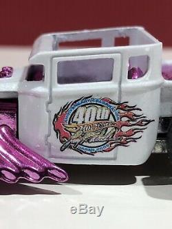 Hot Wheels Pink Osaka Japan Bone Shaker 1/50 Made Extremely Rare New Real Riders