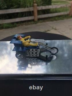 Hot wheels sizzlers chopcycles blue Sour Kraut near mint Extremely Rare