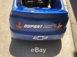 Jeff Gordon #24 Nascar Pedal Car Extremely Rare Peddle Blue Pepsi Cola