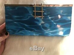 Kate Spade Pool Party Dive in Clutch Bag Purse NWT! Extremely Rare. Not Outlet