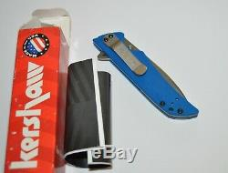 Kershaw Skyline Blue Limited Run 1760BFC Extremely Rare Knife Blade Forums
