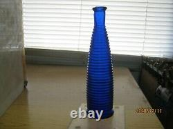 Killer Mint Extremely Rare1890 Electric Cobalt Bluespiral Ribbed Peppersauce
