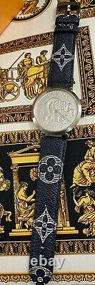 LOUIS VUITTON Tambour Slim Savannah Q2D07 Watch Extremely RARE Limited Collector
