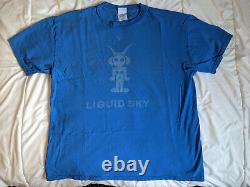 Liquid Sky Jungle Sky shirt 90s NYC Rave Vintage XL Extremely Rare Authentic