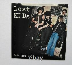 Lost Kids Født som nul Extremely RARE single on BLUE VINYL Danish Punk