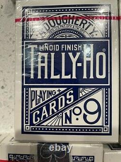 Lot Of 19 Blue Seal tally ho playing cards. All Sealed. Extremely Rare collector