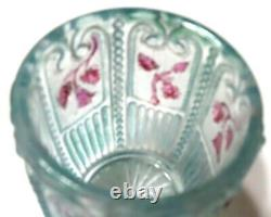 Maine Toothpick Holder, Stained, Us Glass, 1899, Extremely Rare, No Damage