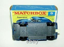 Matchbox Superfast No 5 Lotus Europa WITHOUT SUPERFAST VNMIB EXTREMELY RARE