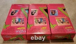 Mattel Cool Blue Barbie, Perfect Pink Teresa and Extreme Green Skipper RARE SET
