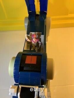Matty Collector Voltron Blue Lion With Princess Allura 2012 EXTREMELY RARE