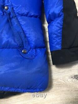 Mens Rare Rab Expedition Puffer Down Blue Jacket Size M Nice