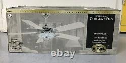 NEW Cameron II Plus Ceiling Fan With Blue Neon Light Kit EXTREMELY RARE SOLD OUT