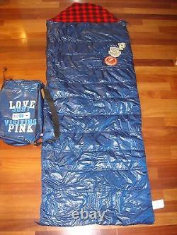 NEW! Victoria's Secret Sleeping Bag + Pouch PINK Collector's Item EXTREMELY RARE