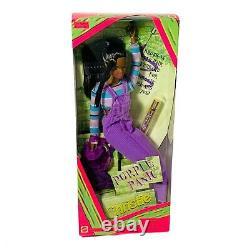 NIB 4 Barbie Dolls Purple Panic, Extreme Green, Cool Blue, Perfect Pink RARE