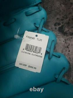 NWT $350 Extremely Rare Coach Turquoise Leather Baseball Glove F55699 (damaged)