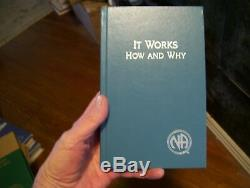 Narcotics Anonymous EXTREMELY RARE LIKE NEW BLUE IT WORKS-HOW & WHY 1994 1ST PRT