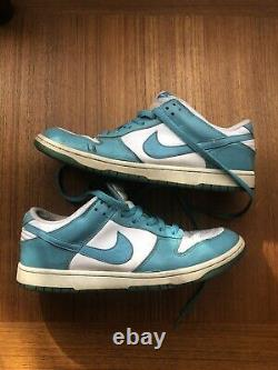 Nike Dunk Low Ostrich Pack Mineral Blue 2011 Size 11.5 Extremely Rare