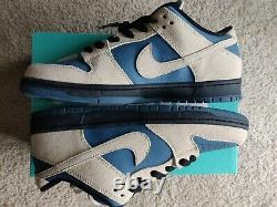 Nike SB Dunk Low Thunderstorm Navy/Cream BRAND NEW DS Sz. 11 EXTREMELY RARE