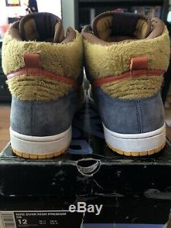 Nike Sb Dunk Papa Bear Plus EXTREMELY RARE Papa Bear Shirt Bundle