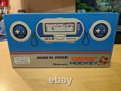 Nintendo Game & Watch Micro VS System Donkey Kong Hockey HK-303 Extremely Rare