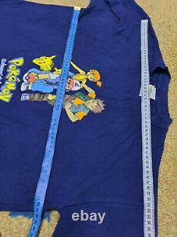 Nintendo pokemon t shirt 2000 extremely rare vintage 100 % cotton