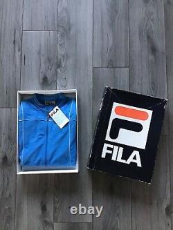 Original Fila Bj Terrinda French Blue, Brand New 1982 Extremely Rare Björn Borg