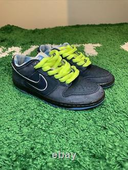 RARE Nike SB Dunk Low Premium Blue Lobster Size 7.5 US. Extremely Rare Size