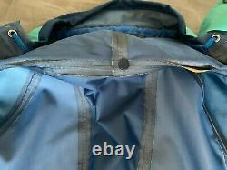 RARE Vintage Berghaus Extrem Trango Size M 24''P2P Goretex Jacket Teal/blue VGC