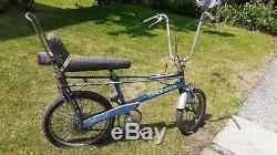 Raleigh Chopper Mk1 Horizon Blue Extremely Rare Excellent Condition For Its Age